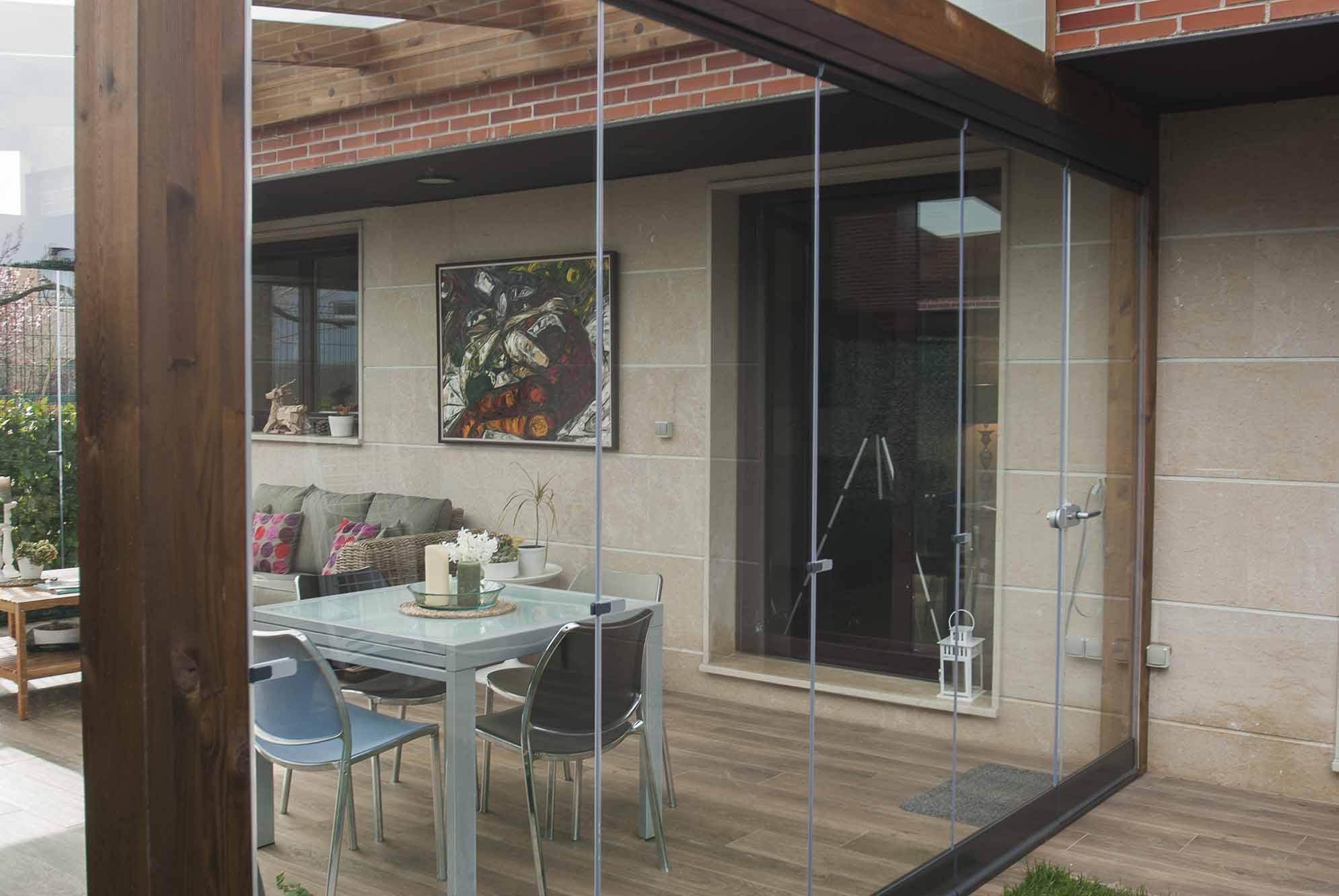 Cerramientos de cristal y ventanas para porches de jard n - Porches y jardines ...