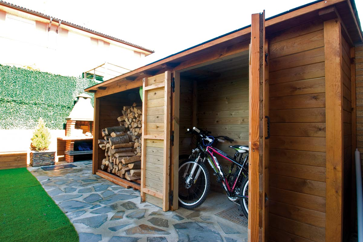 Caseta de madera y le era proyectos echarri Caseta madera jardin