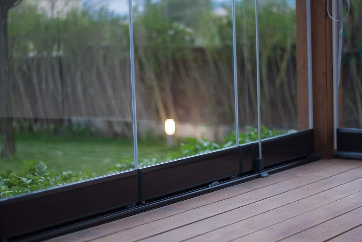 cortinas de cristal Lumon