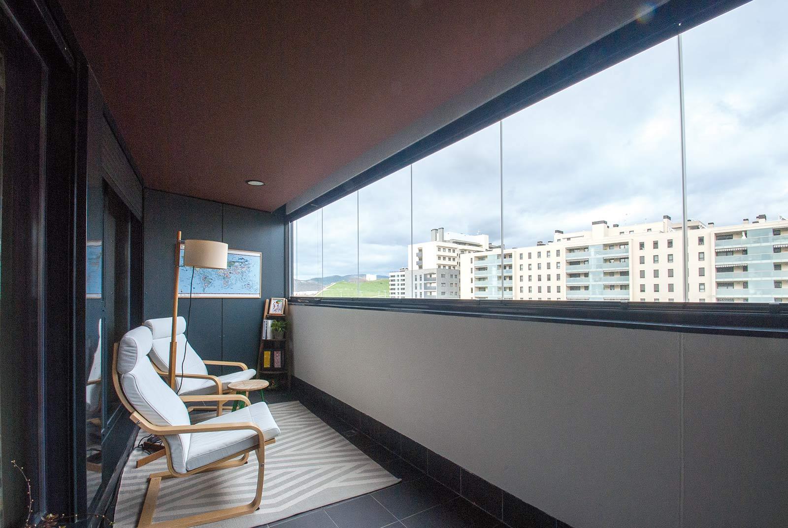 Como cerrar un balcon trendy imagen colure caulfield with - Cerrar balcon ...