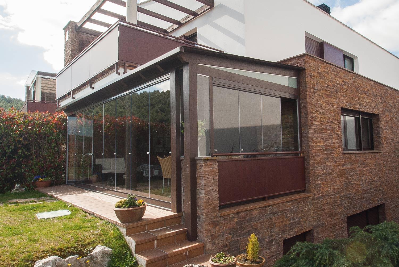 Porches de aluminio y cristal finest de porches with - Porches de aluminio y cristal ...